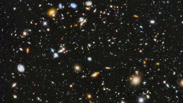Hubble Ultra Deep Field 2014